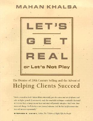 Image for Let's Get Real or Let's Not Play