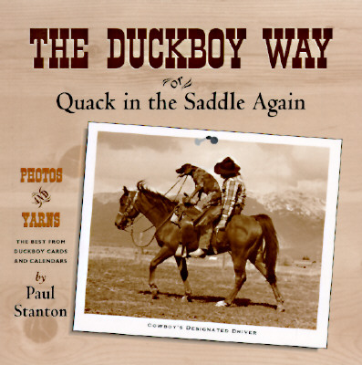 Image for DUCKBOY WAY, THE QUACK IN THE SADDLE AGAIN
