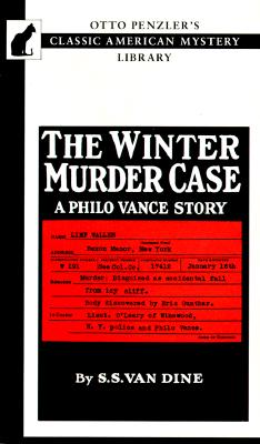 Image for The Winter Murder Case: A Philo Vance Story (Otto Penzler's Classic American Mystery Library)