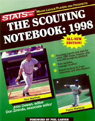 Image for SCOUTING NOTEBOOK 1998