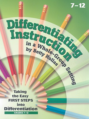 Image for Essential Learning Products Grades 7-12 Differentiating Instruction in a Whole-Group Setting Book Aid