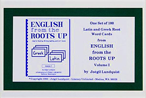 Image for English from the Roots Up Flashcards, Vol. 1