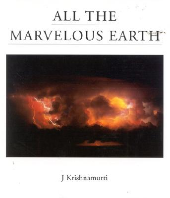 Image for ALL THE MARVELOUS EARTH
