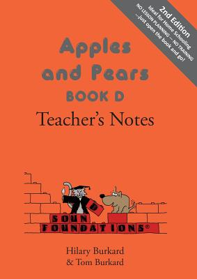 Image for Apples and Pears: Teacher's Notes Bk. D (Sound Foundations)
