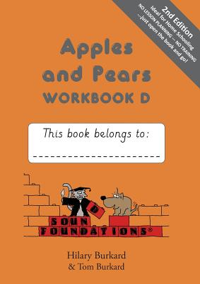 Image for Apples and Pears: Workbook Bk. D (Sound Foundations)