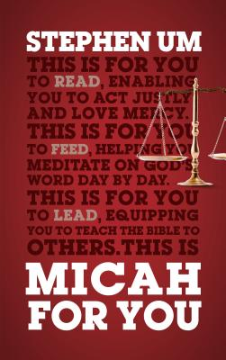 Image for Micah For You: Acting Justly, Loving Mercy