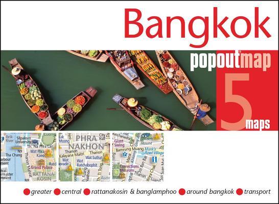 Image for Bangkok PopOut Map: Handy pocket-size pop-up map of Bangkok (PopOut Maps)