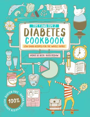 Image for TYPE 1 AND TYPE 2 DIABETES COOKBOOK LOW CARB RECIPES FOR THE WHOLE FAMILY
