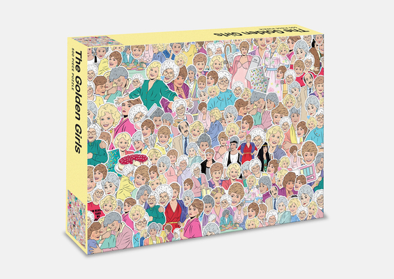 Image for The Golden Girls: 500 Piece Jigsaw Puzzle