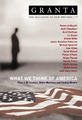 Image for Granta 77: What We Think of America