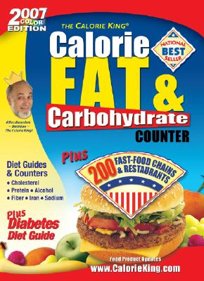 Image for The Calorie King Calorie, Fat and Carbohydrate Counter 2007