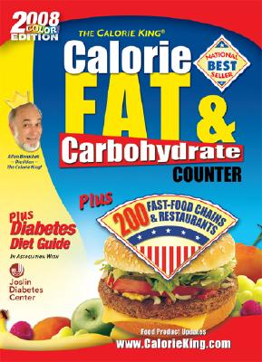 Image for CalorieKing Calorie, Fat & Carbohydrate Counter
