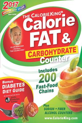 Image for THE CALORIEKING CALORIE, FAT & CARBOHYDRATE COUNTER 2017  Pocket-Size Edition