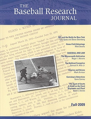 Image for The Baseball Research Journal (BRJ), Volume 38 #2 (no 2)