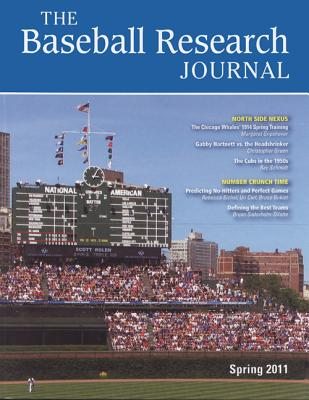 Image for Baseball Research Journal (BRJ), Volume 40 #1