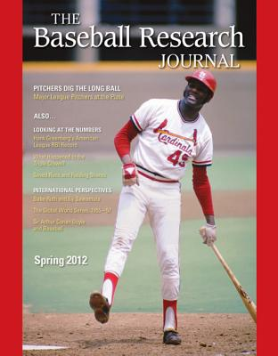 Image for Baseball Research Journal (BRJ), Volume 41 #1 (The Baseball Research Journal)