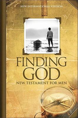 Image for Finding God New Testament for Men (New International Version)