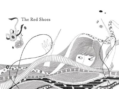 Image for The Red Shoes - Illustrated Ed