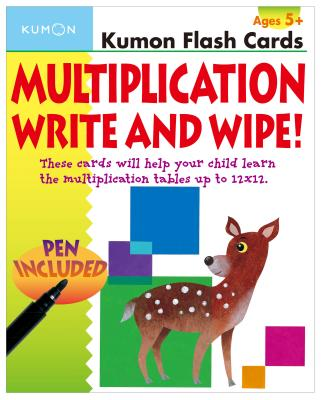 Image for Multiplication Flashcards Write & Wipe