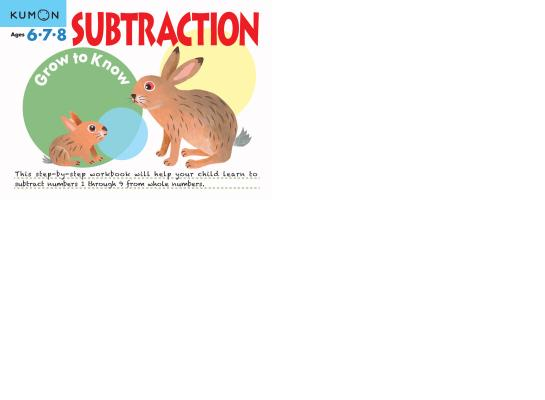 Image for Subtraction: Ages 6,7,8