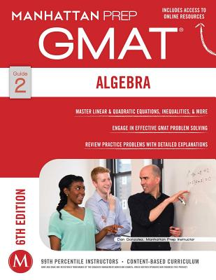 Image for GMAT Algebra Strategy Guide (Manhattan Prep GMAT Strategy Guides)