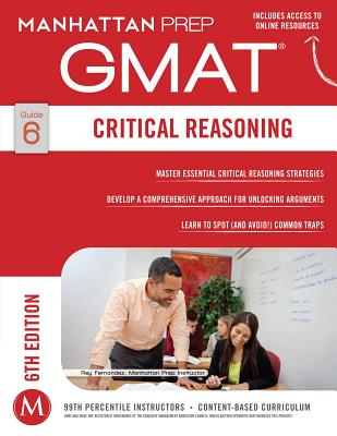 Image for GMAT Critical Reasoning (Manhattan Prep GMAT Strategy Guides)