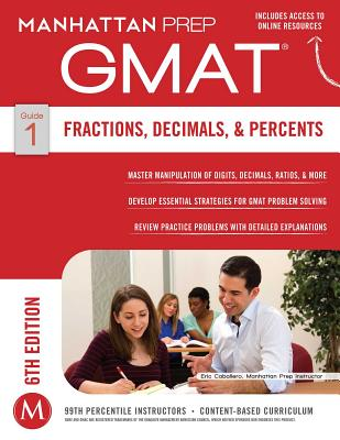 Image for GMAT Fractions, Decimals, & Percents (Manhattan Prep GMAT Strategy Guides)
