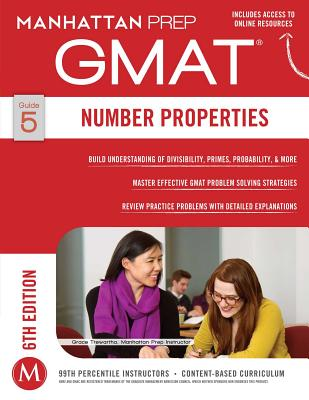 Image for GMAT NUMBER PROPERTIES 6TH EDITION