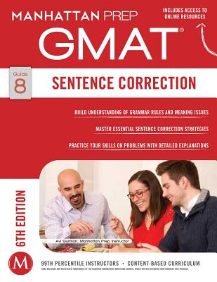 Image for GMAT Sentence Correction (Manhattan Prep GMAT Strategy Guides)