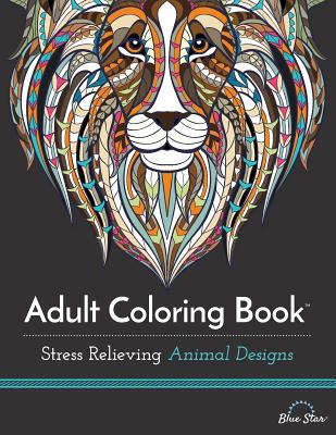 Image for Adult Coloring Book: Stress Relieving Animal Designs