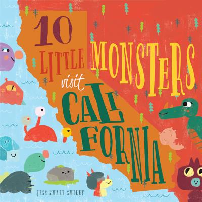 Image for 10 LITTLE MONSTERS VISIT CALIFORNIA