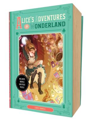 Image for Alice's Adventures in Wonderland Book and Puzzle Box Set (Classic Book and Puzzle Set Series)