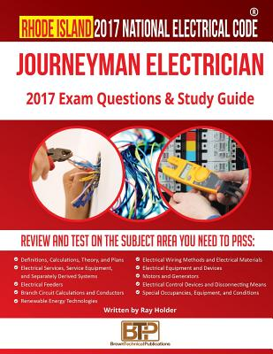 Image for Rhode Island 2017 Journeyman Electrician Study Guide