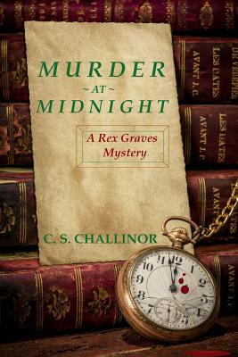 Image for Murder at Midnight [LARGE PRINT]: A British New Year's Eve Cozy Mystery: A Rex Graves Mystery (Volume 6)