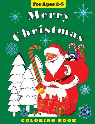 Image for Merry Christmas: Coloring Book for Toddlers and Preschool Children (Coloring Books) (Volume 6)
