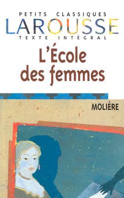 Image for L'ecole des femmes
