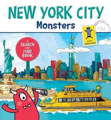 New York City Monsters: A Search-and-Find Book, Paradis, Anne