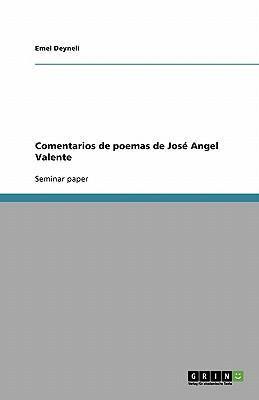 Image for Comentarios de poemas de José Angel Valente (Spanish Edition)