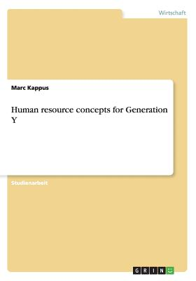 Image for Human resource concepts for Generation Y (German Edition)