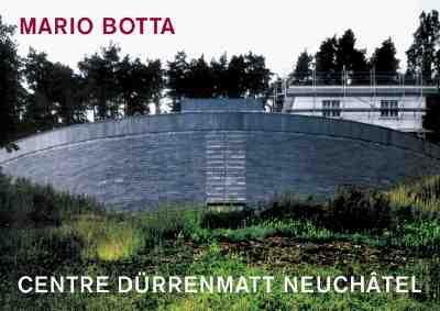 Image for Mario Botta--Centre Durrenmatt, Neuchatel