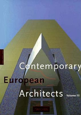 Image for Contemporary European Architects Volume III
