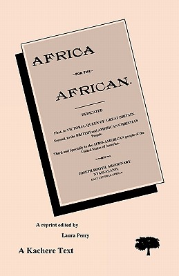 Africa for the African, Booth, Joseph, editor