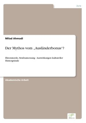 "Image for Der Mythos Vom ""Auslanderbonus""? (German Edition)"