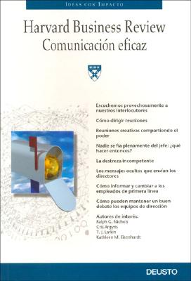 Image for Comunicacion Eficaz/ Effective Communication (Ideas Con Impacto) (Spanish Edition)