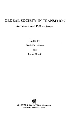 Image for Global Society in Transition, An International Politics Reader