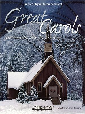 Image for Great Carols: Piano/Organ Accompaniment (No CD) (Curnow Play-Along Book)