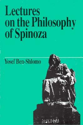 Image for Lectures on the Philosophy of Spinoza (Jewish Thought)